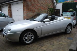 1999 Alfa Romeo Spider T-Spark Convertible at ACA 15th June For Sale
