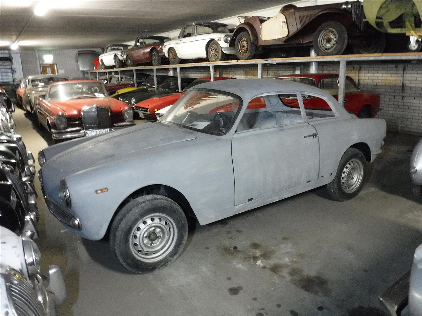 1964 Alfa Romeo 1300 Sprint '64 (to restore!) For Sale (picture 1 of 6)