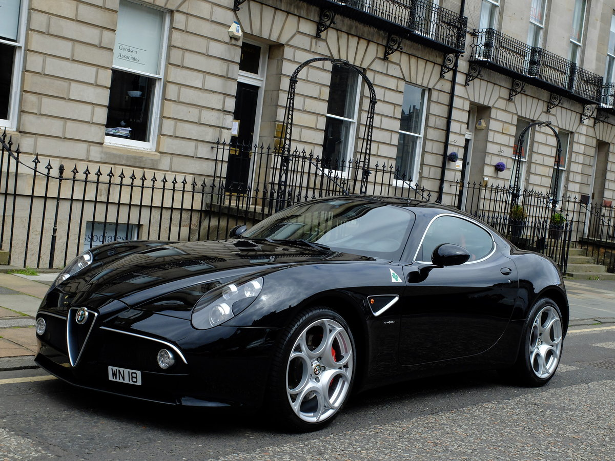 2008 ALFA ROMEO 8C COUPE - 1 ONR - 5 STAR PROVENANCE  For Sale (picture 1 of 6)
