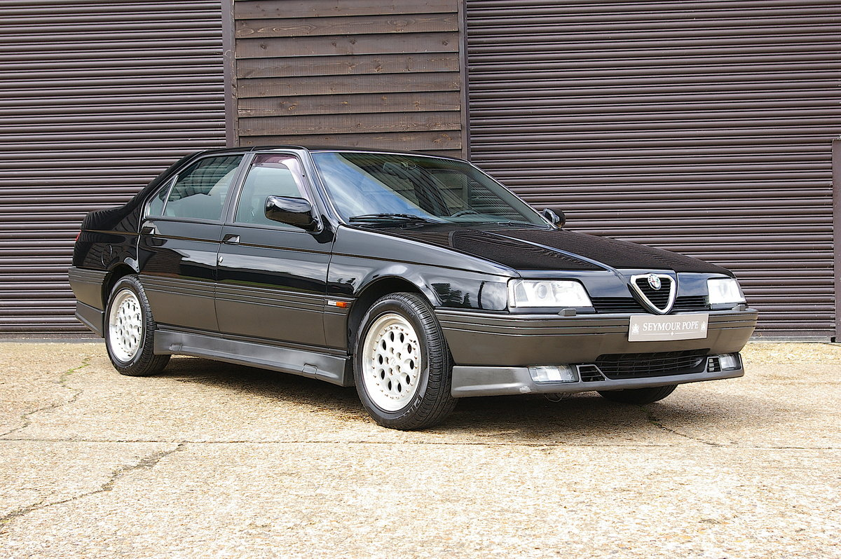 1996 Alfa Romeo 164 3.0 V6 Q4 Manual Saloon LHD (67,219 miles) SOLD (picture 1 of 6)
