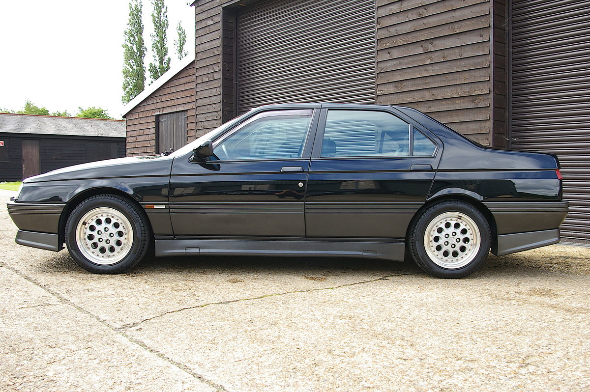 1996 Alfa Romeo 164 3.0 V6 Q4 Manual Saloon LHD (67,219 miles) SOLD (picture 2 of 6)