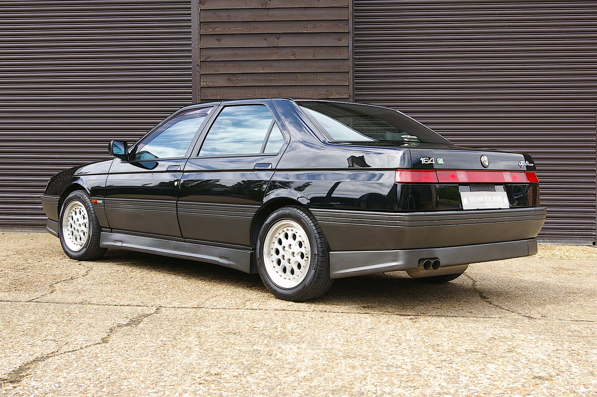 1996 Alfa Romeo 164 3.0 V6 Q4 Manual Saloon LHD (67,219 miles) SOLD (picture 3 of 6)