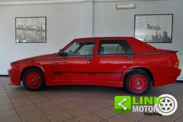 1987 Alfa Romeo 75 1.8i Turbo Evoluzione For Sale (picture 2 of 6)