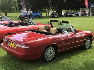 1990 Beautiful Alfa Spider S4 including hard top For Sale