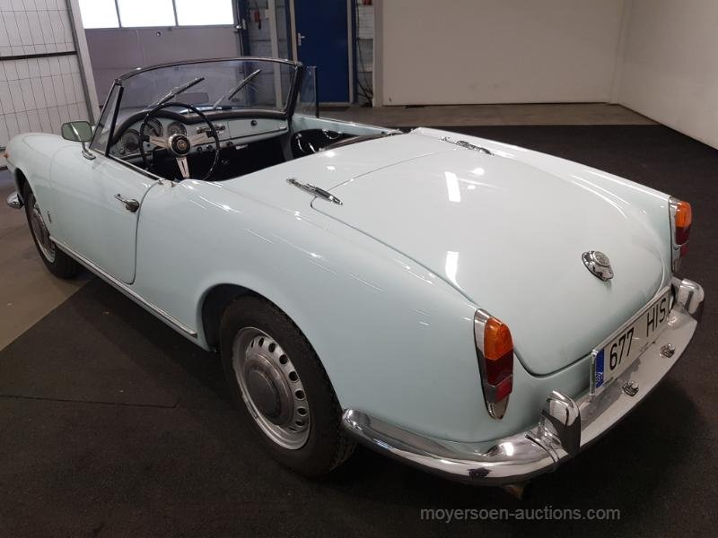 Alfa Romeo Guilietta Spider 1964 For Sale by Auction (picture 3 of 6)
