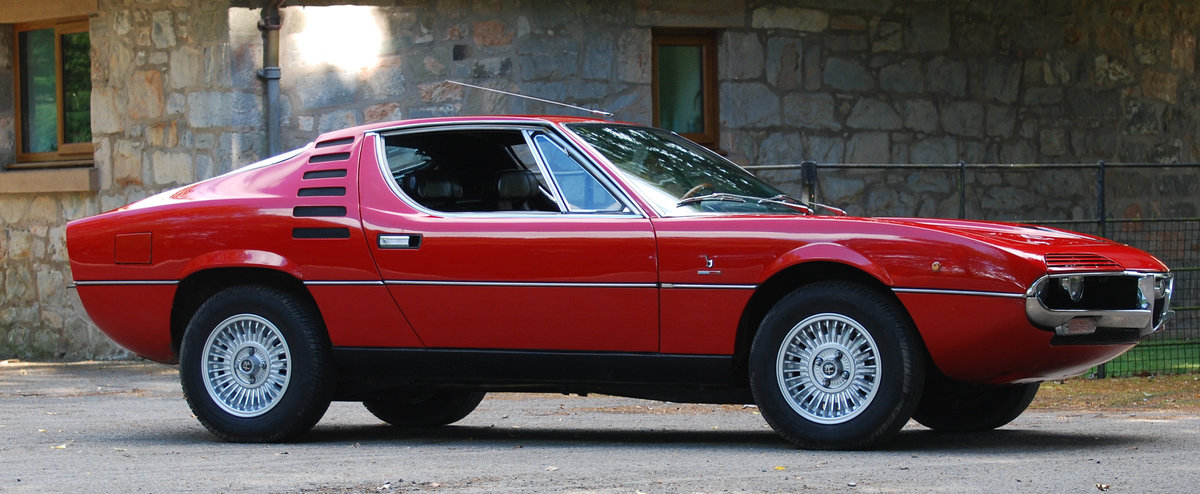 1972 Alfa Romeo Montreal - 64,000 Miles - on The Market For Sale (picture 1 of 6)