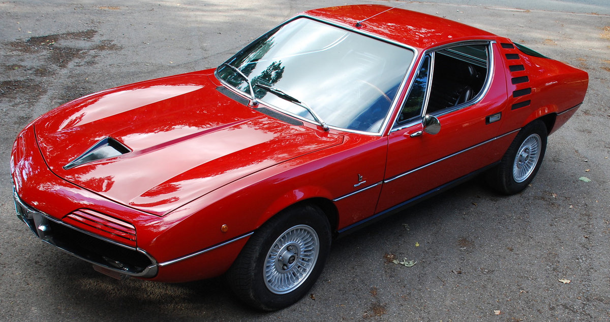 1972 Alfa Romeo Montreal - 64,000 Miles - on The Market For Sale (picture 2 of 6)