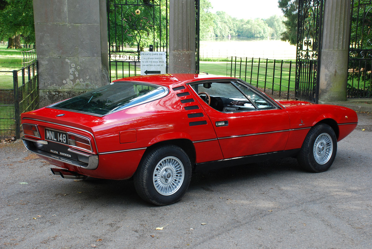 1972 Alfa Romeo Montreal - 64,000 Miles - on The Market For Sale (picture 3 of 6)