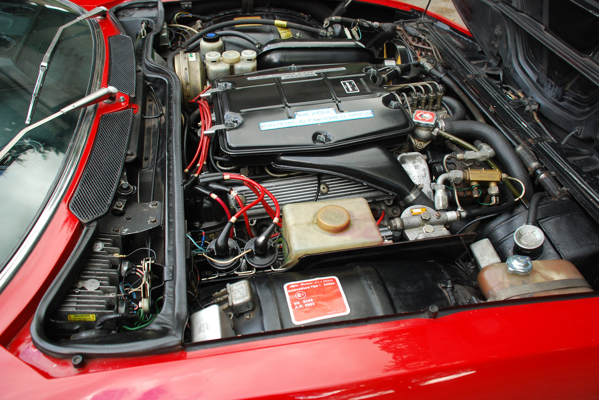 1972 Alfa Romeo Montreal - 64,000 Miles - on The Market For Sale (picture 6 of 6)