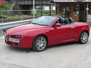 2007 07 ALFA ROMEO SPIDER 3.2 JTS V6 Q4 QTRONIC 2d For Sale