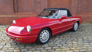 1991 ALFA ROMEO SPIDER 2.0 S4 VELOCE LHD CONVERTIBLE CABRIOLET *  For Sale