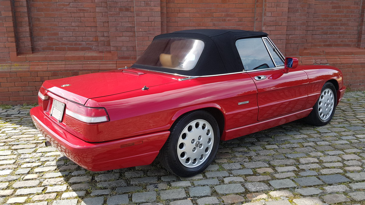 1991 ALFA ROMEO SPIDER 2.0 S4 VELOCE LHD CONVERTIBLE CABRIOLET *  For Sale (picture 2 of 6)