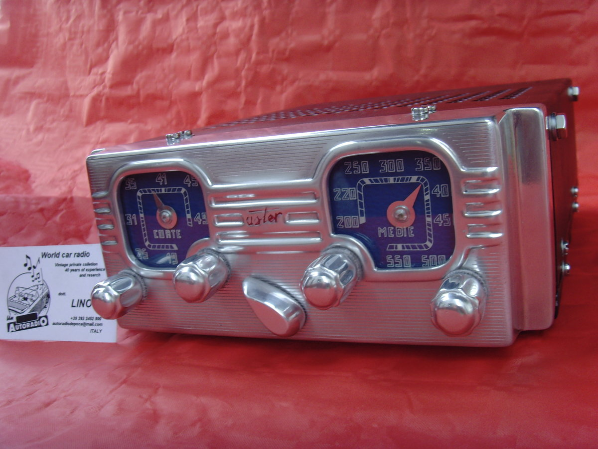 1948 Car radio aster for alfa romeo 6c For Sale (picture 5 of 6)