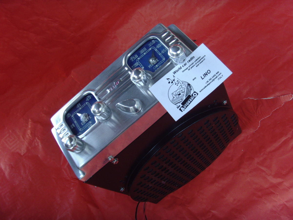 1948 Car radio aster for alfa romeo 6c For Sale (picture 6 of 6)