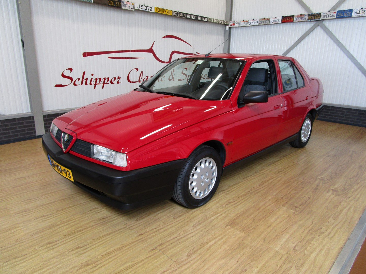 1995 Alfa Romeo 155 1.8L Twin Spark Rosso Second Owner For Sale (picture 1 of 6)