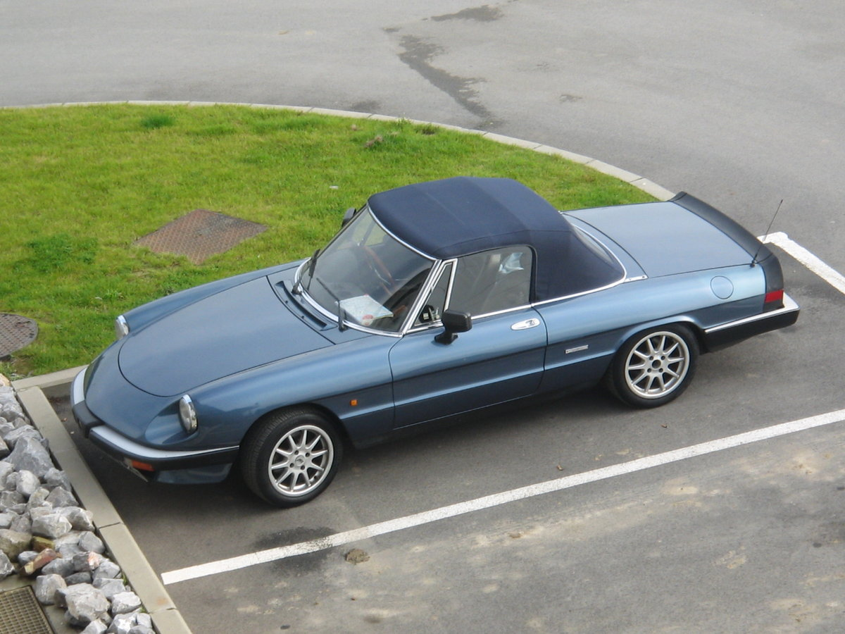 UK reg Spider 105 S3 1989, Rolling Resto RHD/LHD For Sale (picture 6 of 6)