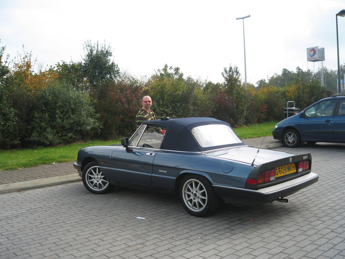 UK reg Spider 105 S3 1989, Rolling Resto RHD/LHD For Sale (picture 5 of 6)