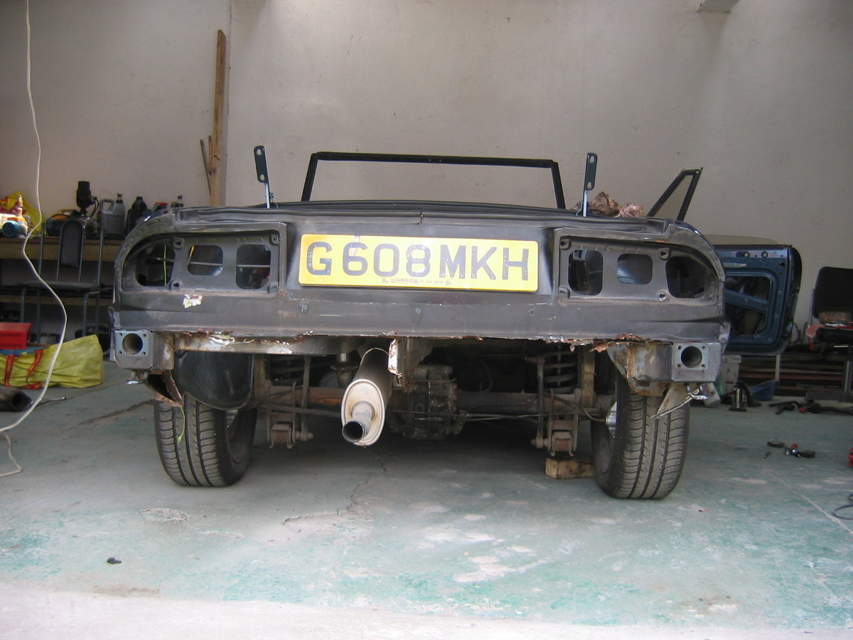 UK reg Spider 105 S3 1989, Rolling Resto RHD/LHD For Sale (picture 3 of 6)