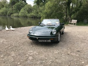 1991 Alfa spider s4 For Sale