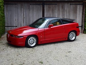 1990 Alfa Romeo SZ. 2452 km. Brand new condition ! For Sale