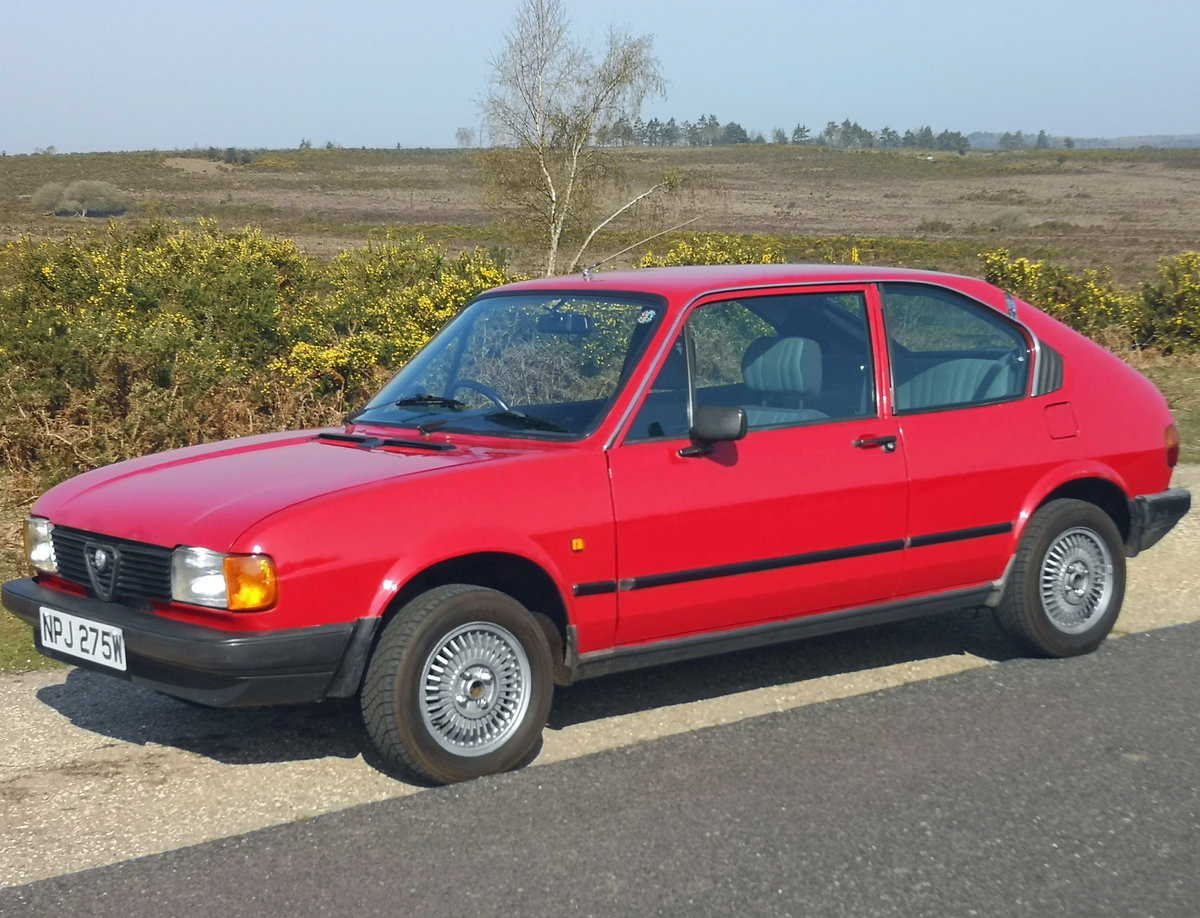 Alfa Romeo Alfasud 1.3 - 1981 SOLD (picture 1 of 6)