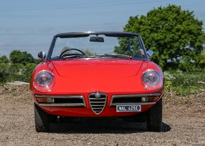 1967 Alfa Romeo Spider 1600 Duetto (1750cc) For Sale by Auction