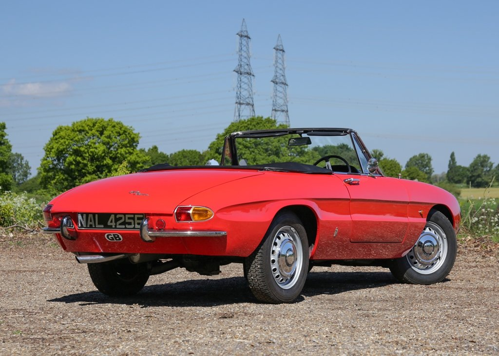 1967 Alfa Romeo Spider 1600 Duetto (1750cc) For Sale by Auction (picture 2 of 6)
