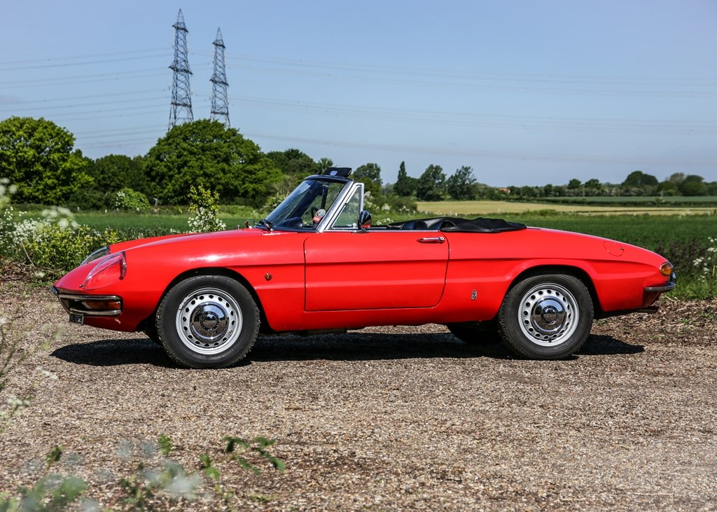 1967 Alfa Romeo Spider 1600 Duetto (1750cc) For Sale by Auction (picture 3 of 6)