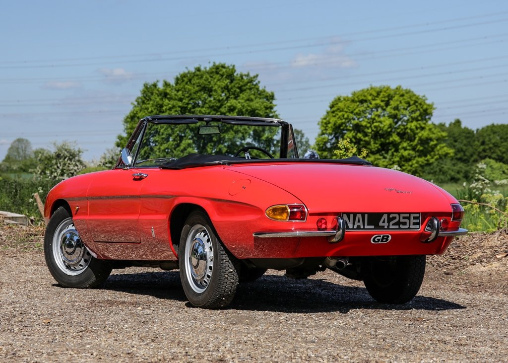 1967 Alfa Romeo Spider 1600 Duetto (1750cc) For Sale by Auction (picture 4 of 6)