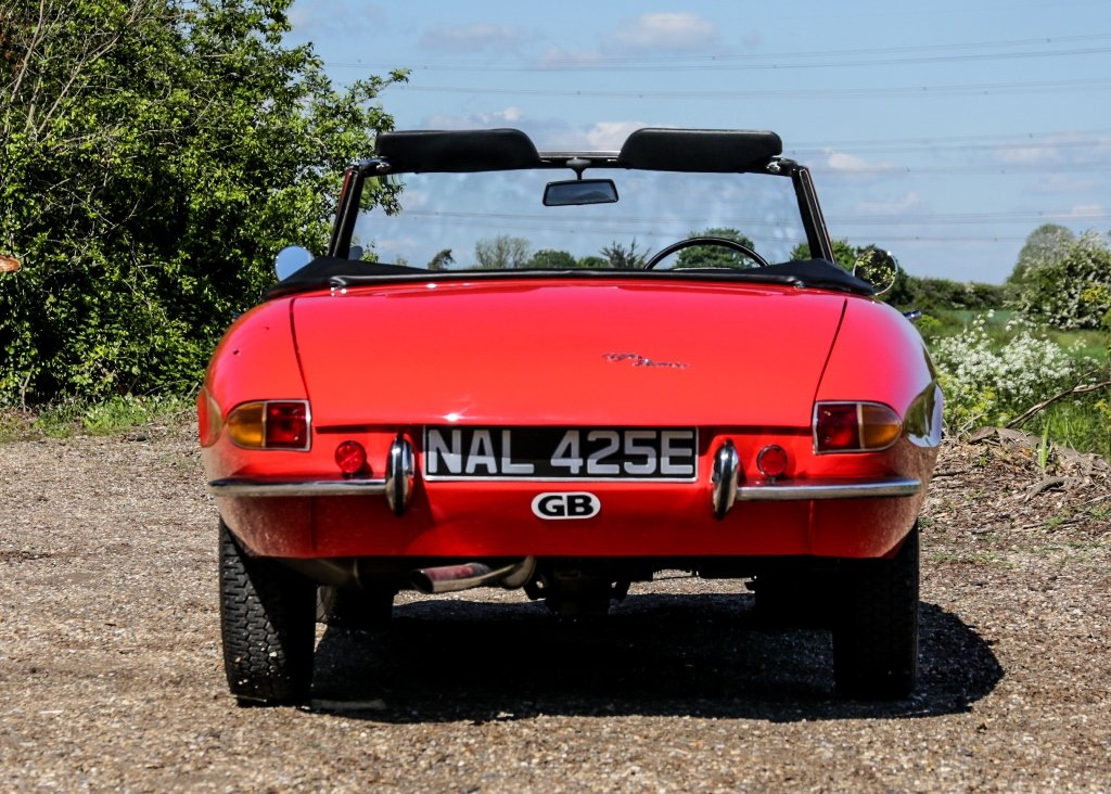 1967 Alfa Romeo Spider 1600 Duetto (1750cc) For Sale by Auction (picture 5 of 6)