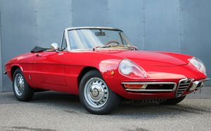 1970 Alfa Romeo 1750 Veloce Spider Duetto LHD For Sale