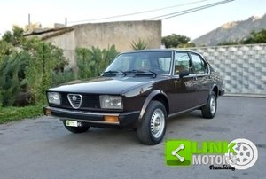 ALFA ROMEO (116.55C) Alfetta 2000L (1979) ASI For Sale