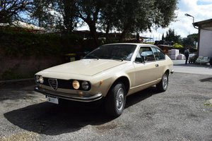 1974 Alfa Romeo Alfetta GT OTTIMO STATO UNICO PROPRIETARIO For Sale