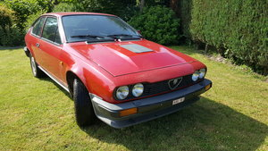 1982 Alfa Romeo Alfa GTV 6 2500cc very beautiful For Sale