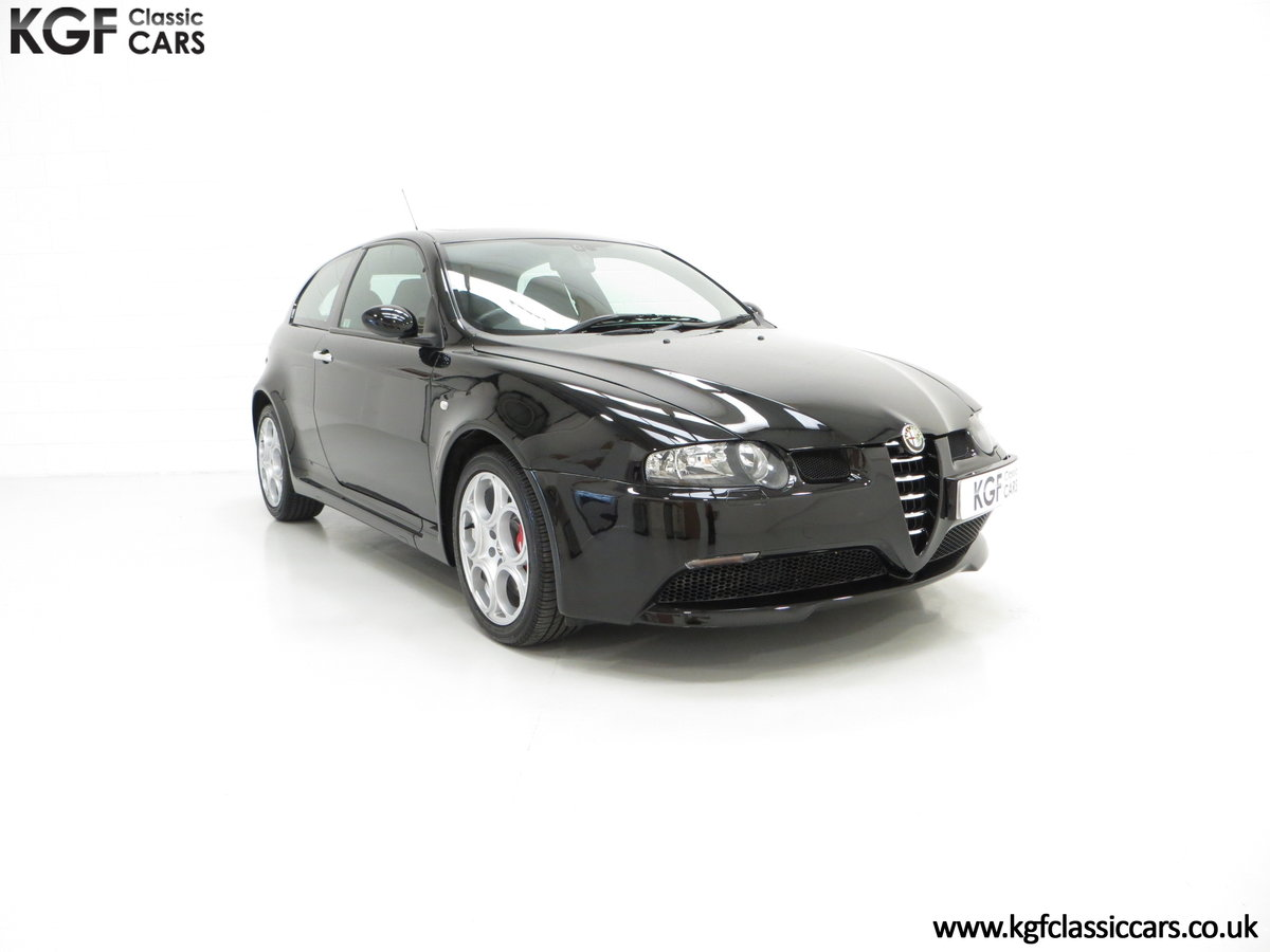 2005 The Holy Grail, An Alfa Romeo 147 GTA with just 43,417 Miles SOLD (picture 1 of 6)
