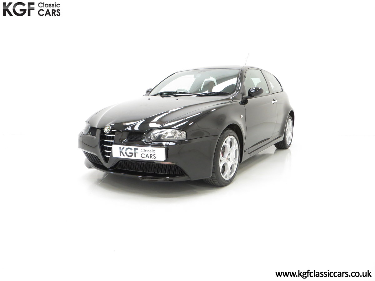 2005 The Holy Grail, An Alfa Romeo 147 GTA with just 43,417 Miles SOLD (picture 2 of 6)