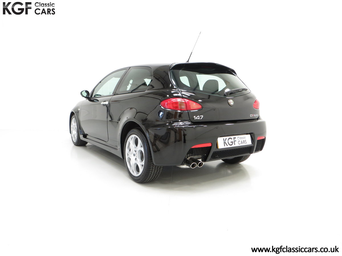 2005 The Holy Grail, An Alfa Romeo 147 GTA with just 43,417 Miles For Sale (picture 4 of 6)