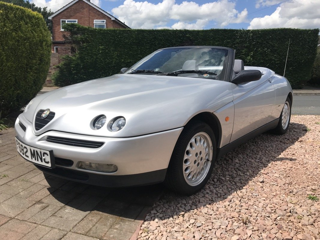 1996 (P) ALFA ROMEO 2.0 TS SPIDER - PHASE 1 For Sale (picture 2 of 6)