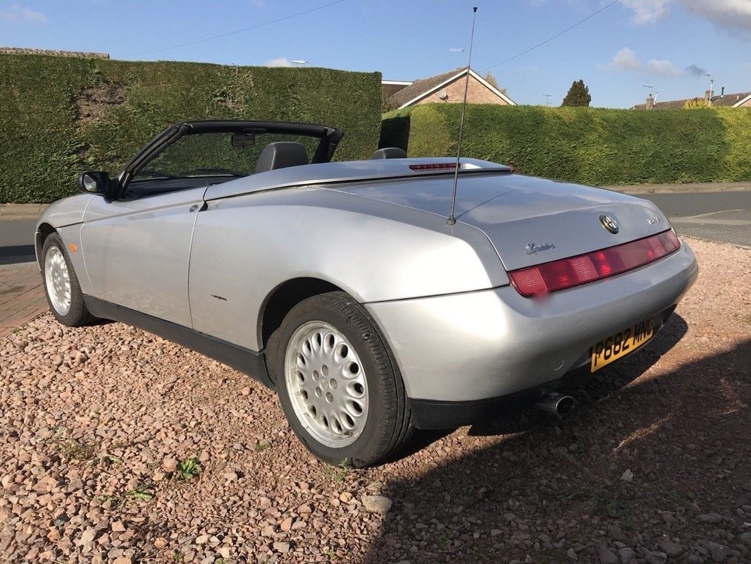 1996 (P) ALFA ROMEO 2.0 TS SPIDER - PHASE 1 For Sale (picture 4 of 6)