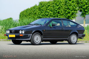 1982 Excellent Alfa Romeo GTV-6 LHD For Sale