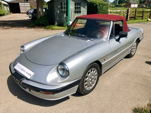1989 ALFA ROMEO SPIDER S3 2.0 QV 5 SPEED For Sale