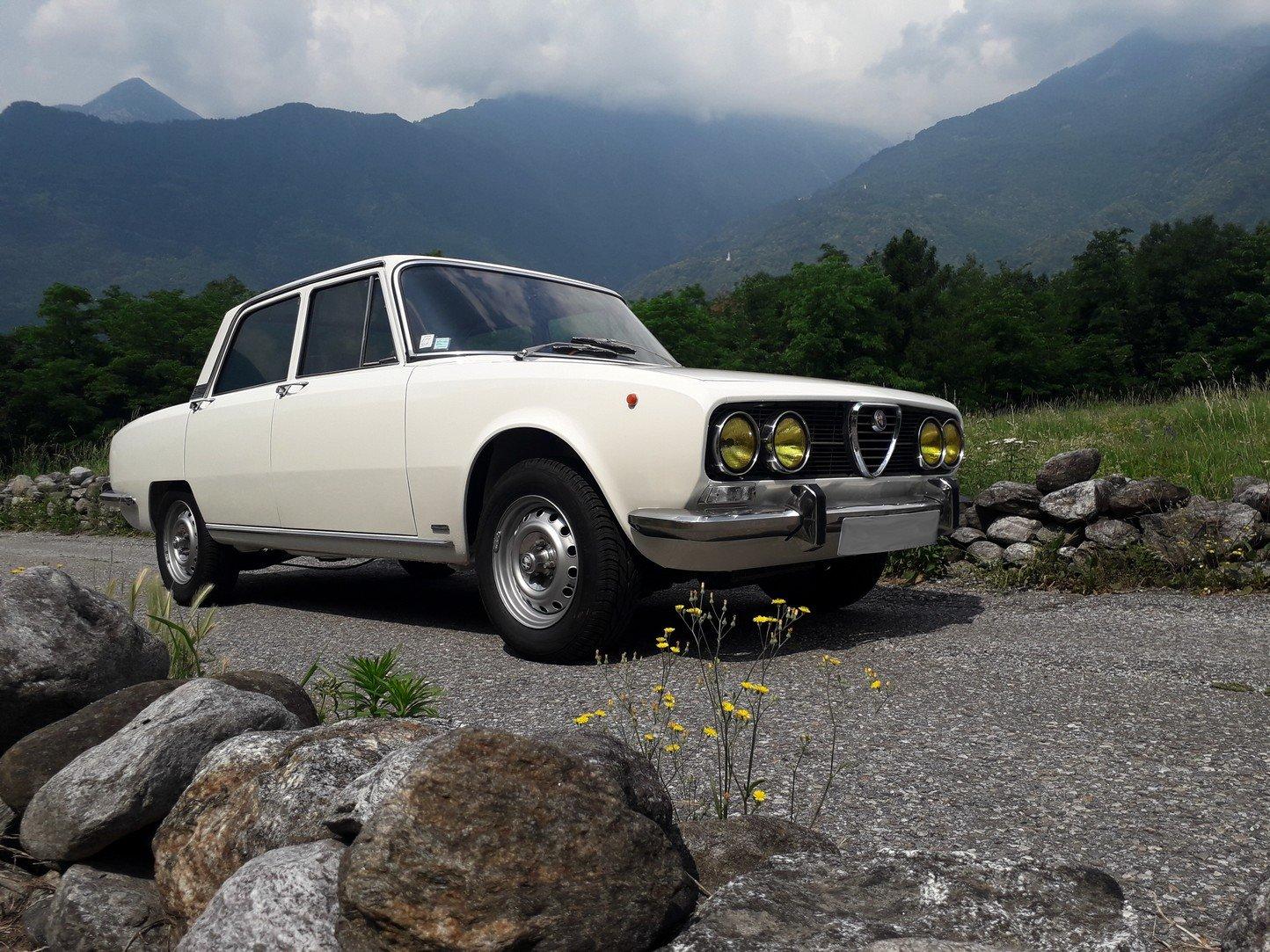 1973 Pristine alfa 2000 berlina bertone, 76 k km! For Sale (picture 1 of 6)