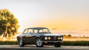 1971  Alfa Romeo GTV 1750 = clean All Black 59k miles   $56k For Sale