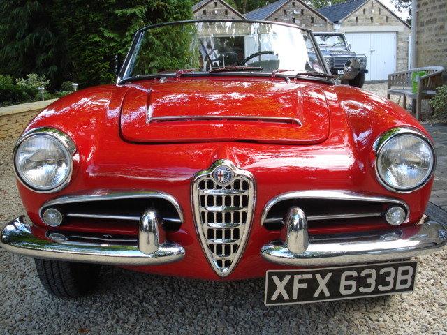 1964 LHD Alfa Romeo Giulia Spider For Sale (picture 2 of 6)