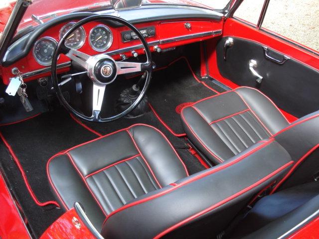 1964 LHD Alfa Romeo Giulia Spider For Sale (picture 3 of 6)