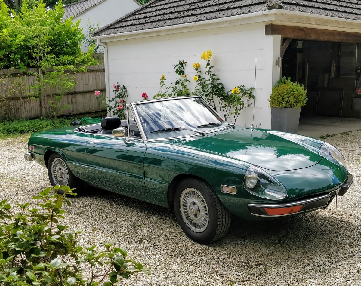 1971 Alfa Romeo Spider Veloce 1750 LHD Stunning For Sale (picture 1 of 6)