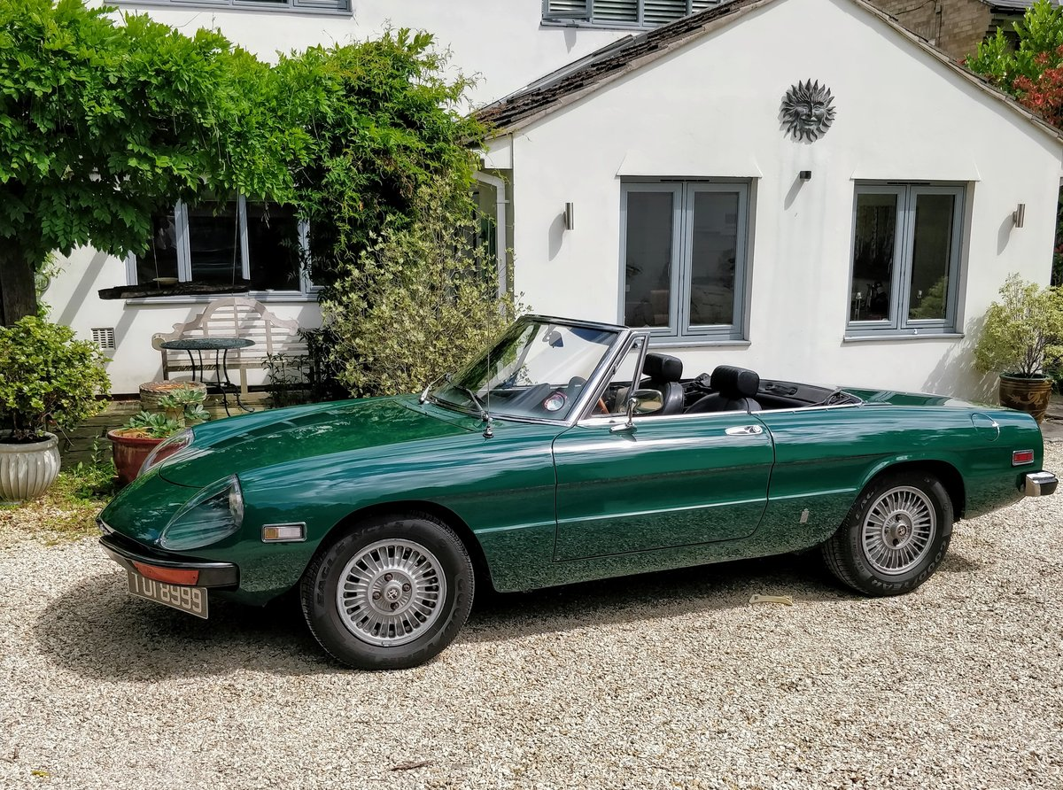 1971 Alfa Romeo Spider Veloce 1750 LHD Stunning For Sale (picture 2 of 6)