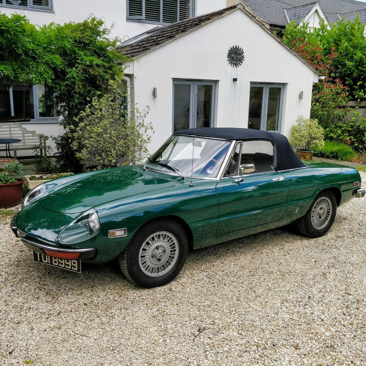 1971 Alfa Romeo Spider Veloce 1750 LHD Stunning For Sale (picture 3 of 6)