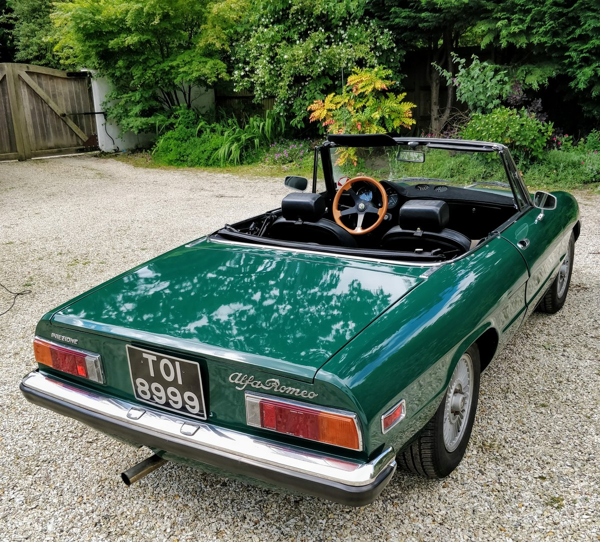 1971 Alfa Romeo Spider Veloce 1750 LHD Stunning For Sale (picture 4 of 6)