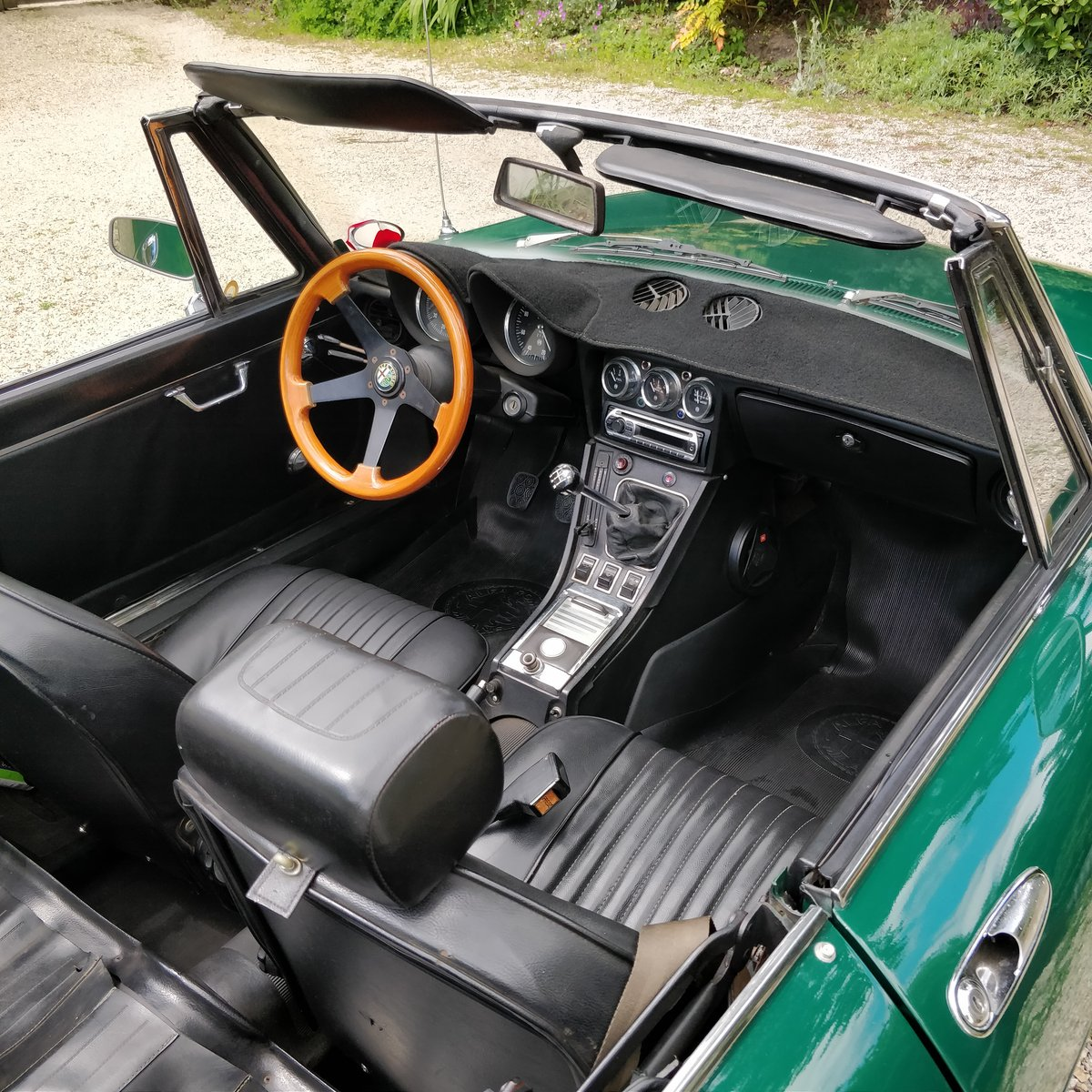 1971 Alfa Romeo Spider Veloce 1750 LHD Stunning For Sale (picture 6 of 6)